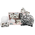 The Vintage Cosmetic Company Leopard Print Totally Pampered Gift Set