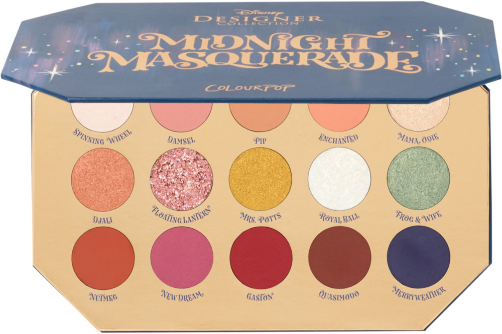 Midnight Masquerade Eyeshadow Palette by Colour Pop