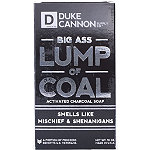 Duke Cannon Supply Co Online Only Big Ass Lump of Coal Activated Charcoal Soap