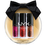 NYX Professional Makeup Love Lust Disco Glitter Goals Liquid Lipstick Holiday Kit