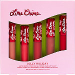 Lime Crime Online Only Jolly Daze 5 Pc Mini Velvetines Lip Set