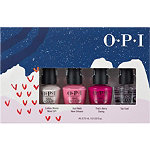 OPI Holiday '19 Nail Lacquer Pink's Mini 4 Pack