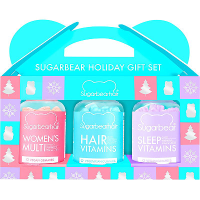 Holiday Trio Gift Set (1 Month Supply Each Of Hair, Women's Multi, & Sleep)