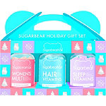 Sugarbearhair Holiday Trio Gift Set (1 Month Supply Each Of Hair, Women's Multi, & Sleep)