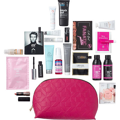 FREE 20 Piece Classy and Confident Beauty Bag with any 80 online purchase