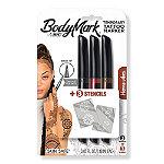 Bic Henna Vibes Body Mark Temporary Tattoo Markers