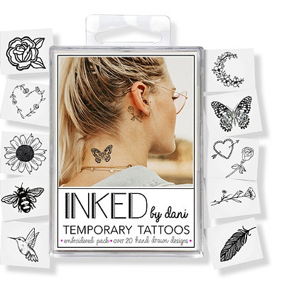 Temporary Tattoos The Embroidered Pack
