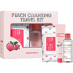 TONYMOLY Peach Cleansing Travel Set