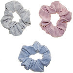Riviera Ribbed Jersey Scrunchies