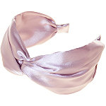 Riviera Smooth Satin Twist Top Headband
