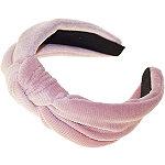 Riviera Corduroy Knot Top Headband
