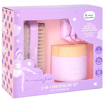 Online Only Cocooning Time 3-in-1 Spa Pedicure Set