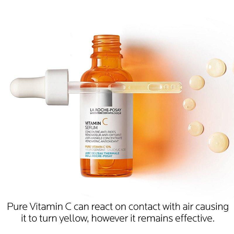 La Roche Posay Pure Vitamin C Face Serum Ulta Beauty