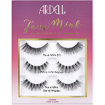 Ardell Faux Mink 3 Pair Gift Pack