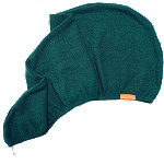 Aquis Online Only Lisse Emerald Limited Edition Hair Turban
