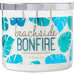 ULTA Beachside Bonfire Scented Soy Blend Candle