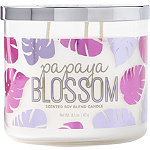 ULTA Papaya Blossom Scented Soy Blend Candle