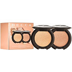 BECCA Pop On The Glow Mini Shimmering Skin Perfector Pressed Duo