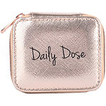 Miamica Rose Gold ''Daily Dose'' Travel Pill Case