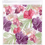 Miamica Assorted Rose-Hibiscus Resealable Bags