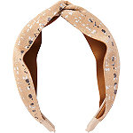 Scünci Neutral Printed Headband