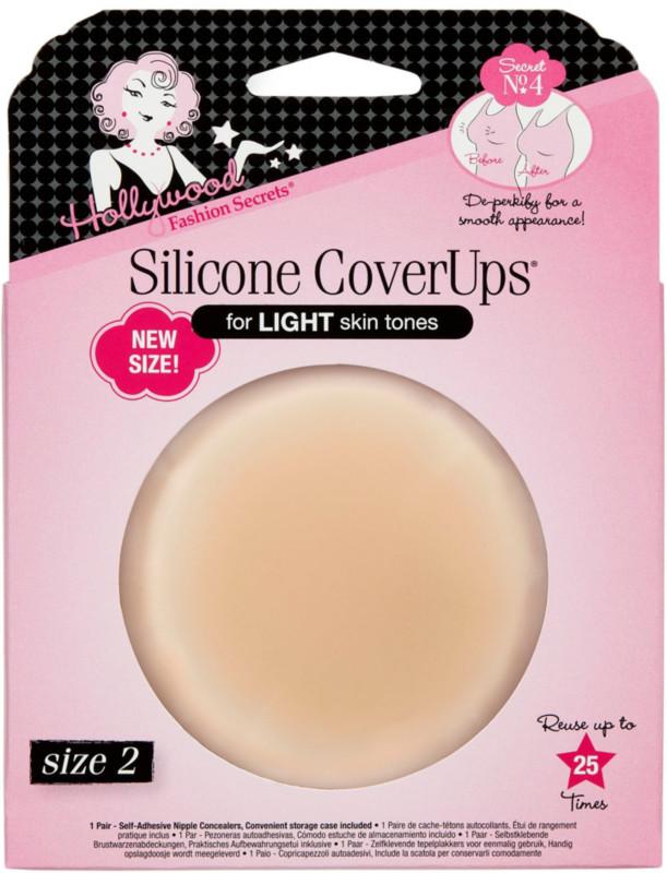 Pink//Brown Reusable Comfortable Discreet Breast Petal Nipple Pasties Hypoallergenic