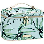 Tartan + Twine Tropical Leaves Deluxe Train Case Set