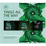 Paul Mitchell Online Only Tea Tree Tingle All the Way Invigorating Gift Set