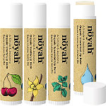noyah Organic & Natural Lip Balm 4 Flavor Combo Pack
