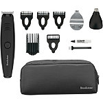 Brookstone Online Only Lithium Ion Powered All-In-One Black Trimmer