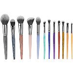 BH Cosmetics Crystal Zodiac - 12 Piece Brush Set