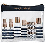 Miamica Online Only Navy-Rose Gold Bottle Set
