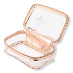 Miamica Online Only Rose Gold-Clear Travel Case