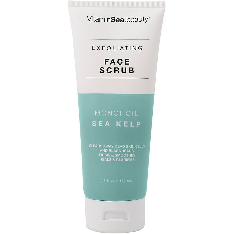 Vitaminsea Beauty Monoi Oil Sea Kelp Exfoliating Face Scrub Ulta Beauty