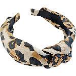 Riviera Leopard Top Knot headband