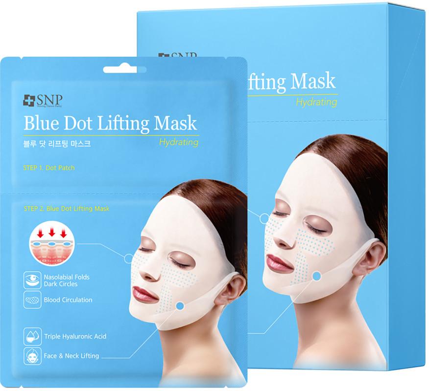 Hydrating Blue Dot Lifting Sheet Mask by snp #4