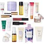 Online Only FREE 17 Piece All That Shimmers Sampler with any $65 online purchase