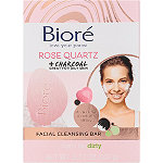 Bioré Rose Quartz + Charcoal Facial Cleansing Bar