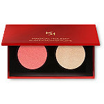 KIKO Milano Online Only Magical Holiday Winter Rose Blush And Highlighter Palette