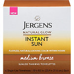 Jergens Natural Glow Instant Sun Full-Body Towelettes