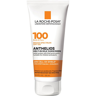 Anthelios Melt-in Milk Body & Face Sunscreen Lotion SPF 100