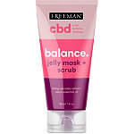 Feeling Beautiful Freeman CBD Balance Jelly Mask + Scrub