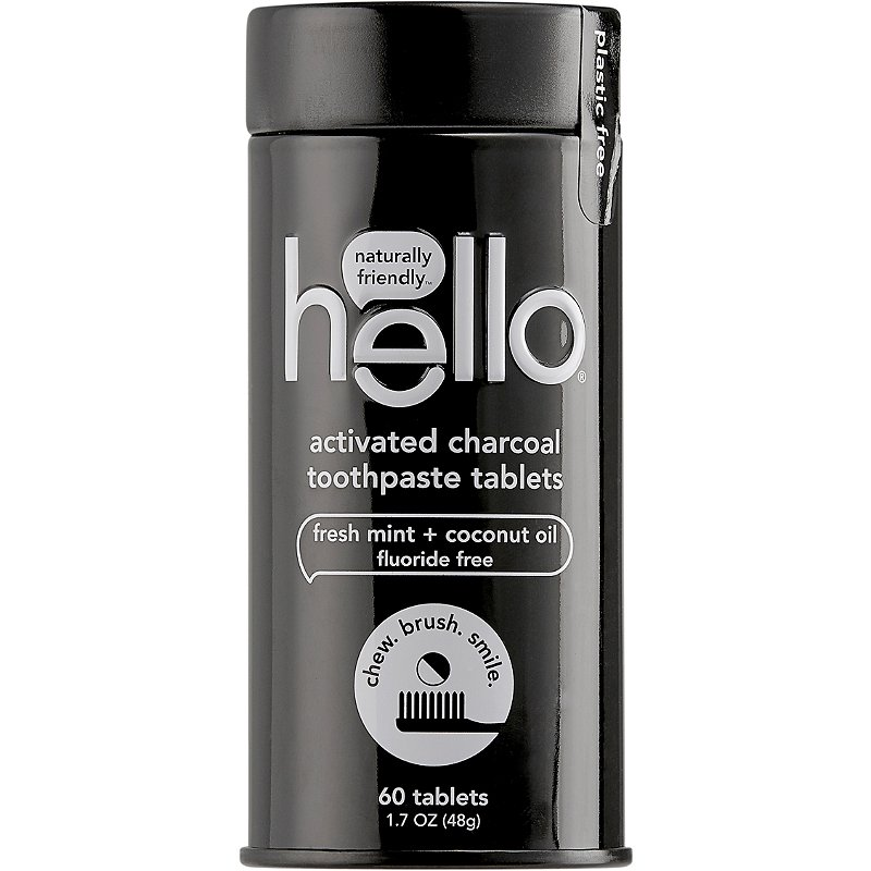Hello Activated Charcoal Toothpaste Tablets Ulta Beauty