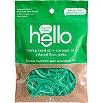Hello Hemp Seed + Coconut Oil Infused Floss Picks