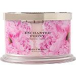 HomeWorx Enchanted Peony 4 Wick Candle