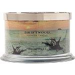 HomeWorx Driftwood 4 Wick Candle