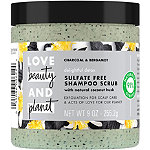 Love Beauty and Planet Charcoal & Bergamot Delightful Detox Sulfate Free Shampoo Scrub