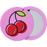 Sweet & Shimmer Cherry Compact Mirror