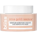 Bliss Rose Gold Rescue Gentle Moisture Cream