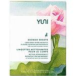 YUNI Rose Cucumber Shower Sheets